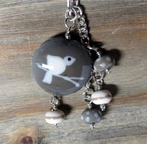 bird keyring b2