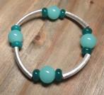 green tube bracelet
